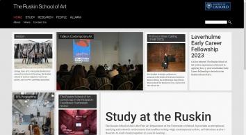 The Ruskin School Of Art Within Oxford University