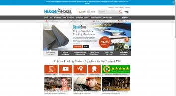 Rubber Roofing Systems, EPDM Rubber Roofs & Materials | Rubber4Roofs
