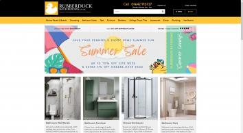 Bathroom Suites | Baths | Toilets | Showering Supplies | Rubber Duck Bathrooms | Redcar UK