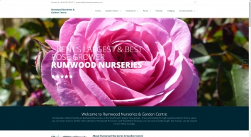 Kent\'s Largest Rose Grower, Rumwood Nurseries and Garden Centre
