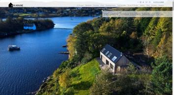 R.HOUSE Innovative Timber Homes Made on Skye