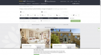 Over 400 of the Best Self-Catering Holiday Cottages in England