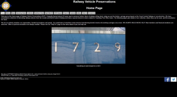Railway Vehicle Preservations - Historic carriage restoration on the Great Central Railway