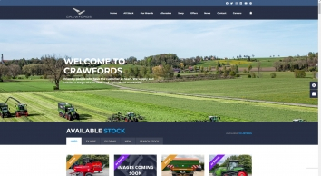 Crawfords Agricultural Machinery - Massey Ferguson, Challenger, Fendt Tractors, Trailers & Farming Equipment