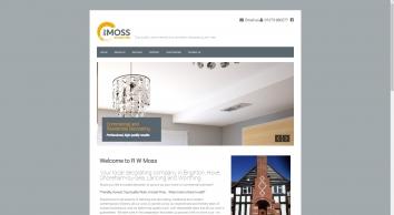 R W Moss Decorating Ltd