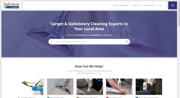 Cleaning Services Across the UK | Find Your Local Technician | Safeclean