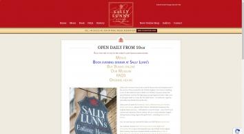 Sally Lunn\'s Refreshment House & Museum