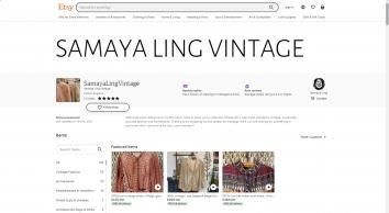 Samaya Ling Vintage