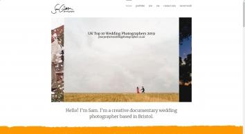 Sam Gibson Wedding Photography Bristol