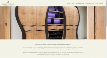 Bespoke kitchens, furniture and interiors in Cornwall | Samuel F Walsh