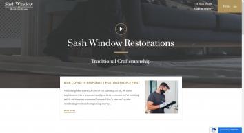 Sash Window Restorations | Home