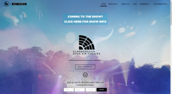 Scarborough Open Air Theatre | Europe\'s Largest Open Air Theatre