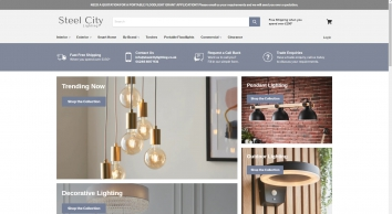 SCL steel city lighting Direct