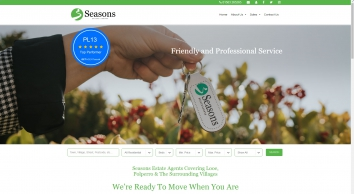 Estate And Letting Agents in Looe, Polperro, Cornwall  - Seasons Estate Agents