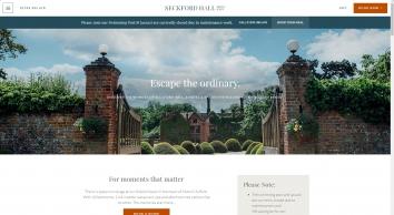 Luxury Hotels Suffolk, Woodbridge Hotels | Seckford Hall Hotel Suffolk