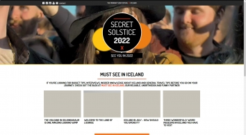 Secret Solstice - Midnight Sun Music Festival