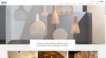 Secto Design Homepage  | Secto Design