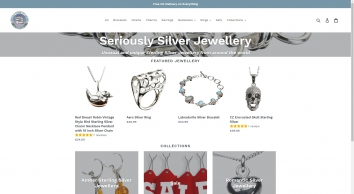 Seriously Silver Jewellery Gifts Cards