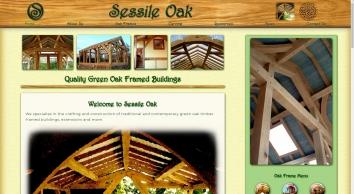 SESSILE OAK - Green Oak Frames, Buildings, Extensions & Garages