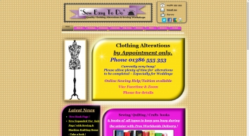 Sewing Classes in Worcestershire with \'SewEasyToDo\'