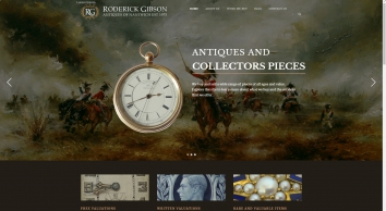 Roderick Gibson | Antiques of Nantwich Est. 1975