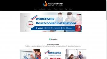 SHAPE Contractor - Worcester Bosch Accredited Installer in Andover