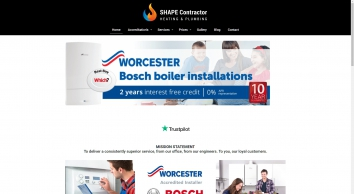 SHAPE Contractor - Worcester Bosch Accredited Installer in Andover