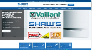 Shaw\'s plumbing and heating