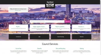 Sheffield City Council Estate and Letting Agents in Sheffield