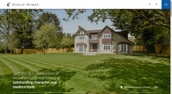 Shield Homes - CREATION OF EXCLUSIVE RESIDENTIAL HOMES OF OUTSTANDING CHARACTER AND STYLE