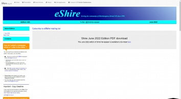 Shire on the Web   Welcome