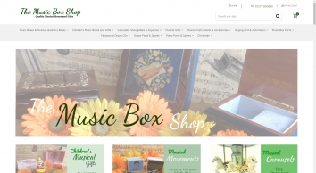 Music Box Shop