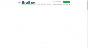 Shred Base Secure Shredding Services | Confidential Waste Destruction