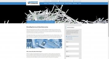 Shredder Waste Paper