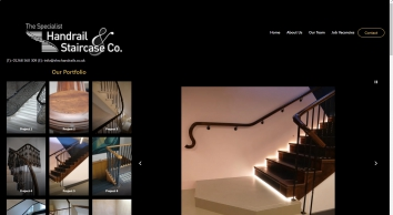 SHSC Handrails - Specialist Handrail and Staircases in London