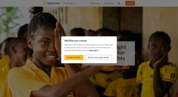 Sightsavers   Protecting sight and fighting for disability rights