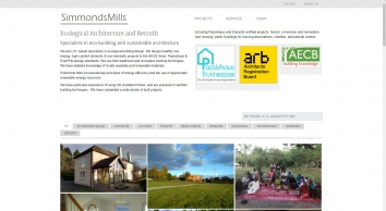 Simmonds Mills: Ecological Architecture and Retrofit