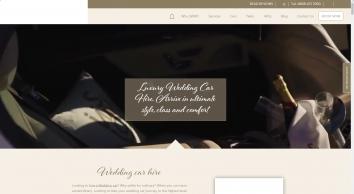 Luxury Wedding Car Hire Suffolk - White Wedding Car Hire for East Anglia