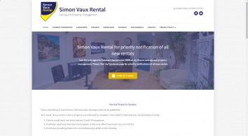 Simon Vaux Rental