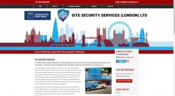 Site Security Services London Ltd
