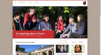 St John\'s College - University of Oxford