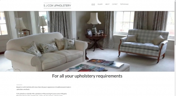 Upholstery, modern and traditional by SJCox