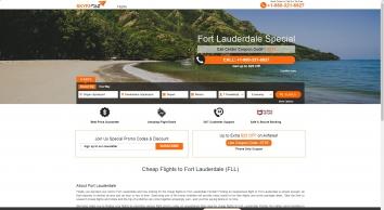 Cheap Flights to Fort Lauderdale Florida, Book Round Trip Flights | SkyFarez