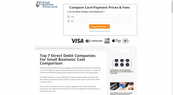 Top 8 Direct Debit Companies For Small Business: Cost Comparison