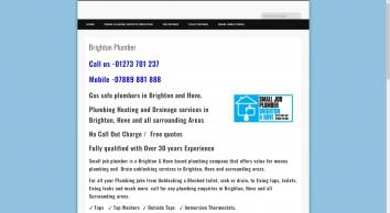 SMALL JOB PLUMBERS LTD - Plumbers Based In Brighton and hove