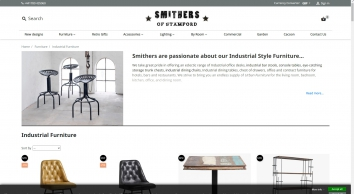 Industrial furniture   Retro Style - Smithers of Stamford