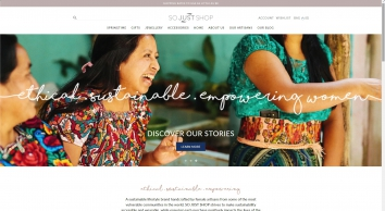 So Just Shop - ethical and handmade marketplace