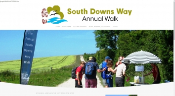 the South Downs Way annual walk