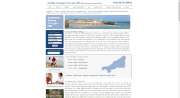 Holiday cottages in Cornwall, accommodation, self catering