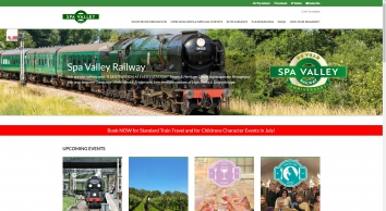Home « Spa Valley Railway